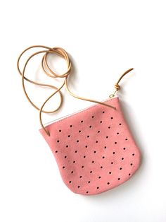 'Blush' is new color I've added to my handmade bag collection, Pine + Boon. #pineandboon