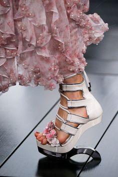 Alexander McQueen, Schuhe, High Heels, Frühjahr Sommer, 2015
