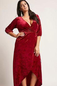 59e37ab18a9d velvet dress plus size Velvet Dress Plus Size, Red Velvet Dress, Velvet  Dresses,