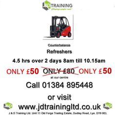 SPECIAL OFFER: Forklift Refreshers only 50 http://ift.tt/1HvuLik #forklift #offers #safety #jobs