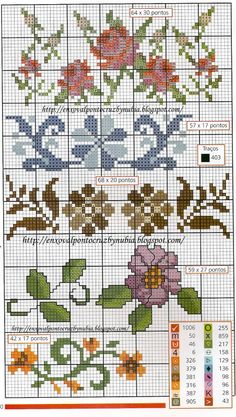 Layette Cross Stitch by Nubia Cortinhas: beak crochet