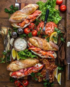 The amount of lobsters caught worldwide has almost doubled in the past ten decades. Much like a steamed edition, even just a grilled lobster is quite ... I Love Food, Good Food, Yummy Food, Easy Brunch Recipes, Breakfast Recipes, Brunch Ideas, Tapas, Lobster Recipes, Lobster Food