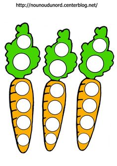 carrot do a dot | funnycrafts