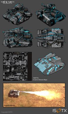Low poly tank by Tucho