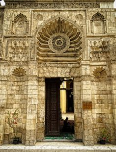 Fatimid mosque of al-Aqmar (1125 AD), Cairo