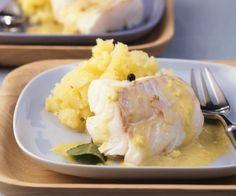 Rezept: Kabeljau mit Senfsoße und Kartoffelstampf