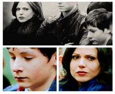 Regina & Henry episode 16. <- Even when he can't remember her, she's making sure he's okay. :'(