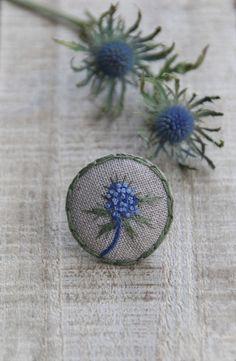 """Мои сезоны: Синяя Колючка Коллекция""""Herbarium"""".Лён Belfast 32..."""