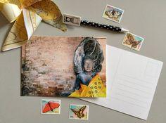 Cartolina Fotografica Tempio Asia biglietto di ThePostcardsFactory