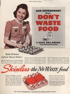 WWII family oriented conservation print advertisement.  Visual reference for the Duster graphic novel. http://Duster.me