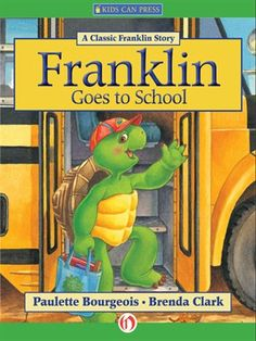 Barnes & Noble Nook eBook: Franklin Goes to School, written by Paulette Bourgeois and illustrated by Brenda Clark First Day Of School, Middle School, Back To School, School Kids, School Stuff, 90s Childhood, Childhood Memories, Baby Memories, Childhood Education
