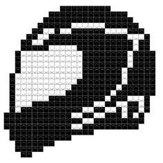 Disney Cross Stitch Patterns, Cross Stitch Charts, Pixel Art, Motorcycle Helmets, Motorcycle Tattoos, Filet Crochet, C2c Crochet, Beaded Cross, Beaded Jewelry Patterns