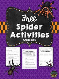 "Celebrating October (plus a ""Spiders freebie!)"