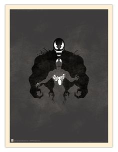 Inkblot Test: I See Spiders by ~daabcreative on deviantART
