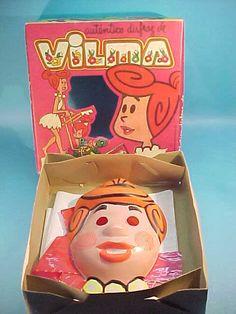 halloween in the Flintstones wilma costume! Omg bring it back! Halloween Items, Halloween Masks, Holidays Halloween, Vintage Halloween, Happy Halloween, Halloween Decorations, Halloween Goodies, Halloween Horror, Vintage Holiday