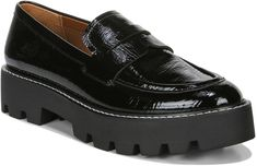 Balin Platform Loafer Black Loafers, Penny Loafers, Loafers For Women, Loafers Men, Franco Sarto, Patent Leather, Fashion Shoes, Oxford Shoes, Dress Shoes