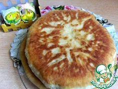 Быстрый сырный пирог на сковороде - кулинарный рецепт