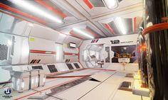 ArtStation - sci fi environment , Dmitry Lialin