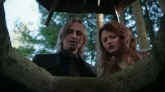 Once Upon a Time Challange #24 If you could be anyone from Storybrooke or the Enchanted Forest, Who would you be? - I think it would be cool if I were Rumple's and Belle's daughter ;)