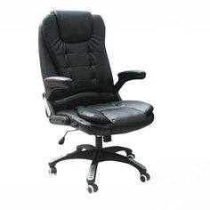 High Quality Simple Modern Office Chair Strong Steel Support Lifting Boss Chair Thickening Headrest Leisure Lying Chair