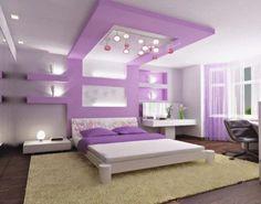 alçıpan yatak odası modelleri