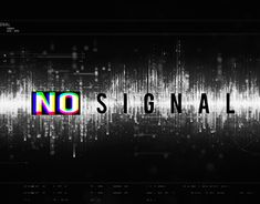 """Check out new work on my @Behance portfolio: """"No Signal GIF"""" http://be.net/gallery/59871815/No-Signal-GIF"""