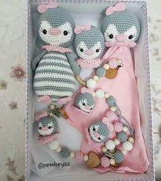 Crochet Baby Toys, Newborn Crochet, Crochet Patterns Amigurumi, Crochet For Kids, Crochet Animals, Crochet Dolls, Baby Knitting, Knit Crochet, Crochet Crafts