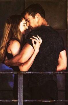 Tris & Four.#Divergent #Four #TobiasEaton #TheoJames #Tris #BeatricePrior #ShaileneWoodley
