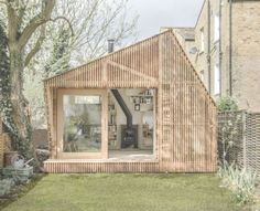 Writer's Shed: A Glowing Hut Hides at the Bottom of the Garden