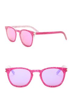 214f62dec3b15 Saint Laurent - 49mm Round Sunglasses is now 65% off. Free Shipping on  orders