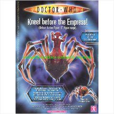 Dr Doctor Who Action Figure Empress of Racnoss Original Magazine Advert 7725 on eBid United Kingdom