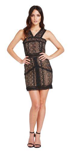 Dark Romance Dress - Miss G Lace Dresses, Formal Dresses, Race Day Fashion, Peplum Dress, Romance, Dark, Womens Fashion, Shopping, Beautiful