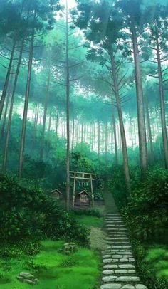 70 Super ideas for wall paper anime scenery art of animation Anime Backgrounds Wallpapers, Anime Scenery Wallpaper, Animes Wallpapers, Fantasy Landscape, Landscape Art, Landscape Paintings, Aesthetic Art, Aesthetic Anime, Art Studio Ghibli