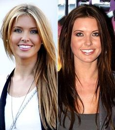 MTV Hills: Audrina Patridge's light and dark hair color looks...Which color do you like best on her?  (We choose the lighter side)