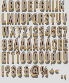 Typography / All sizes | Old style letters | Flickr - Photo Sharing!
