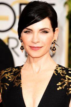 Julianna Margulies at the Golden Globes #Red carpet