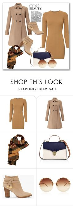 """""""Pumpkin Spice Style #1"""" by the-face-of-style ❤ liked on Polyvore featuring A.L.C., Miss Selfridge, Wilsons Leather, Aspinal of London, White House Black Market and Linda Farrow"""