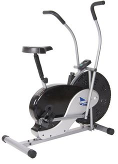Body Max Stationary Upright Rider Fan Bicycle Bike - Exercise Fitness Equipment