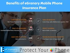 http://www.egranary.net offers smartphone protection plan in just $50 (new phone) and in $35 (used phone)