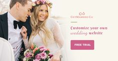 GetMarried is live now! Build your gorgeous #wedding #website w/ no hassles. Try Now! http://getmarried.co/