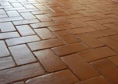 Pavimento exterior de barro cocido pavimento rustico in for Suelos patios rusticos