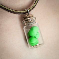 Dragonball Z Senzu Beans Korin's Miracle Rejuvenating Beans Hand Sculpted Polymer Clay Replica Novelty Gift