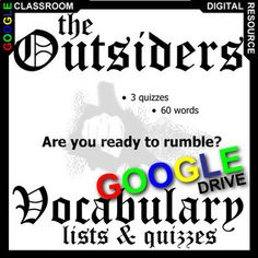 fahrenheit essay topics grading rubrics students are given  the outsiders vocabulary list and quiz assessment created for digital