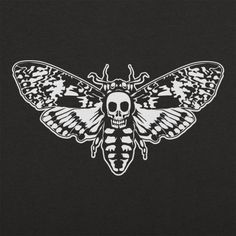 Death's Head Moth T-Shirt by 6 Dollar Shirts. Thousands of designs available for men, women, and kids on tees, hoodies, and tank tops.