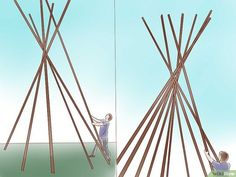 How to Make a Teepee: 15 Steps (with Pictures)