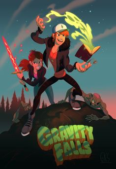 There should be a anime Gravity Falls. If that can't be done can another season be made?