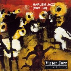 1996 Victor Jazz History Vol.5: Harlem Jazz (1921-28) [RCA 74321285592] cover painting by Alice Choné #albumcover