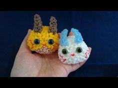 かぎ編みで編む 妖怪ウォッチ ぷにぷに コマさん&コマじろう by Rainbowloom - YouTube