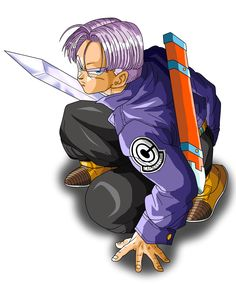 Trunks with sword by CrystalisZelda