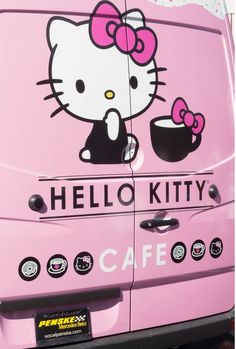 You can find them on wheels… | All Of The Food At This Restaurant Looks Like Hello Kitty